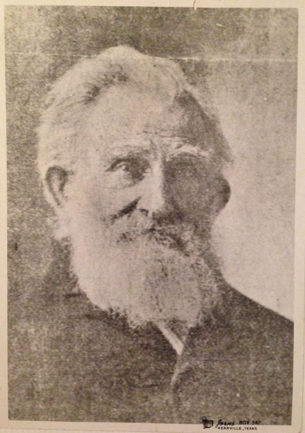 Captain Lee Williamson - First Sheriff of Kerr County, Texas