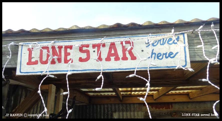 LONE STAR BEER served here ....
