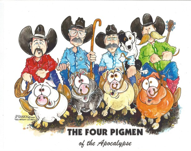 The Four Pigmen of the Apocalypse