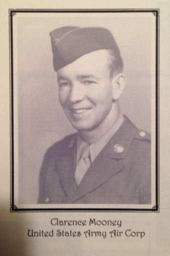 Clarence Mooney, United States Army Air Corp