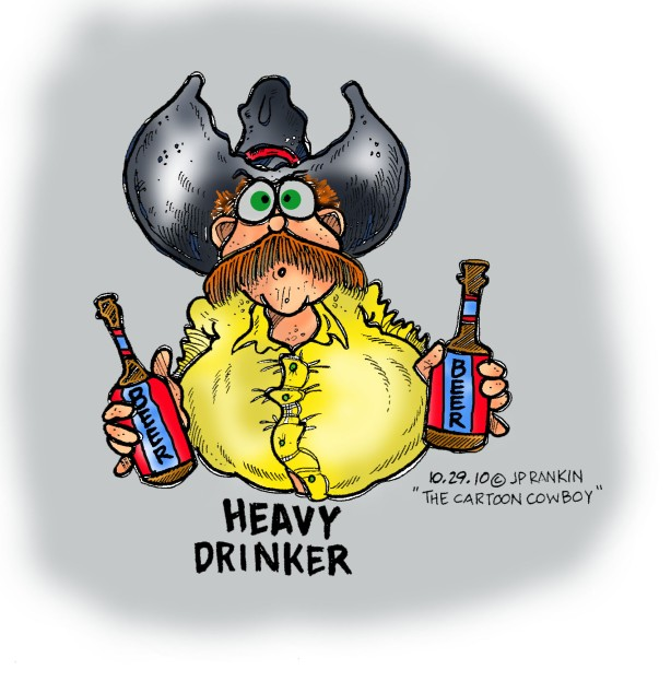 Heavy Drinker in Color