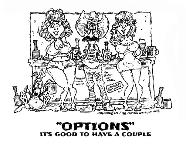 OPTIONS Black and White