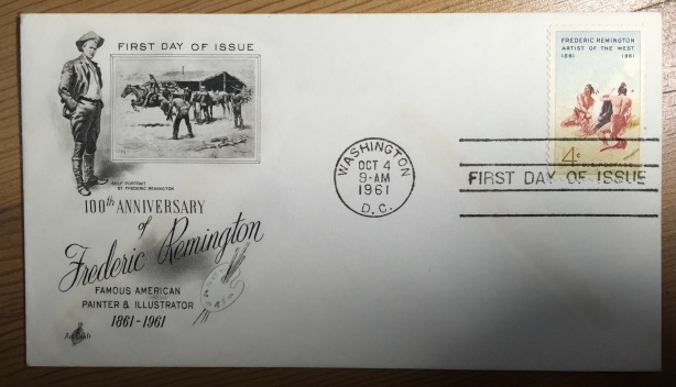 Remington 1st Day Cover