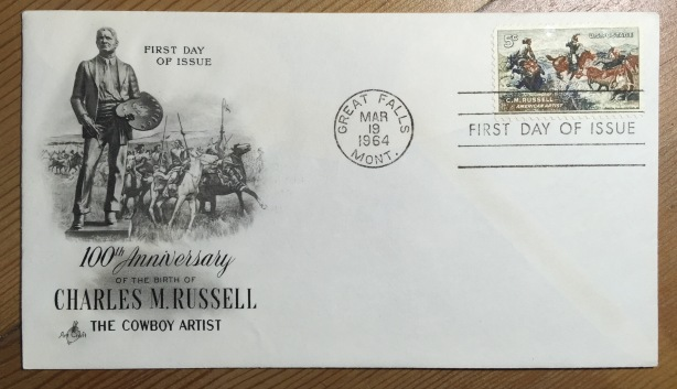 Russell 1st Day Cover