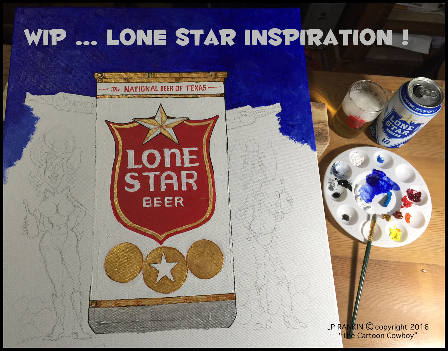 Lone Star Inspiration - WIP
