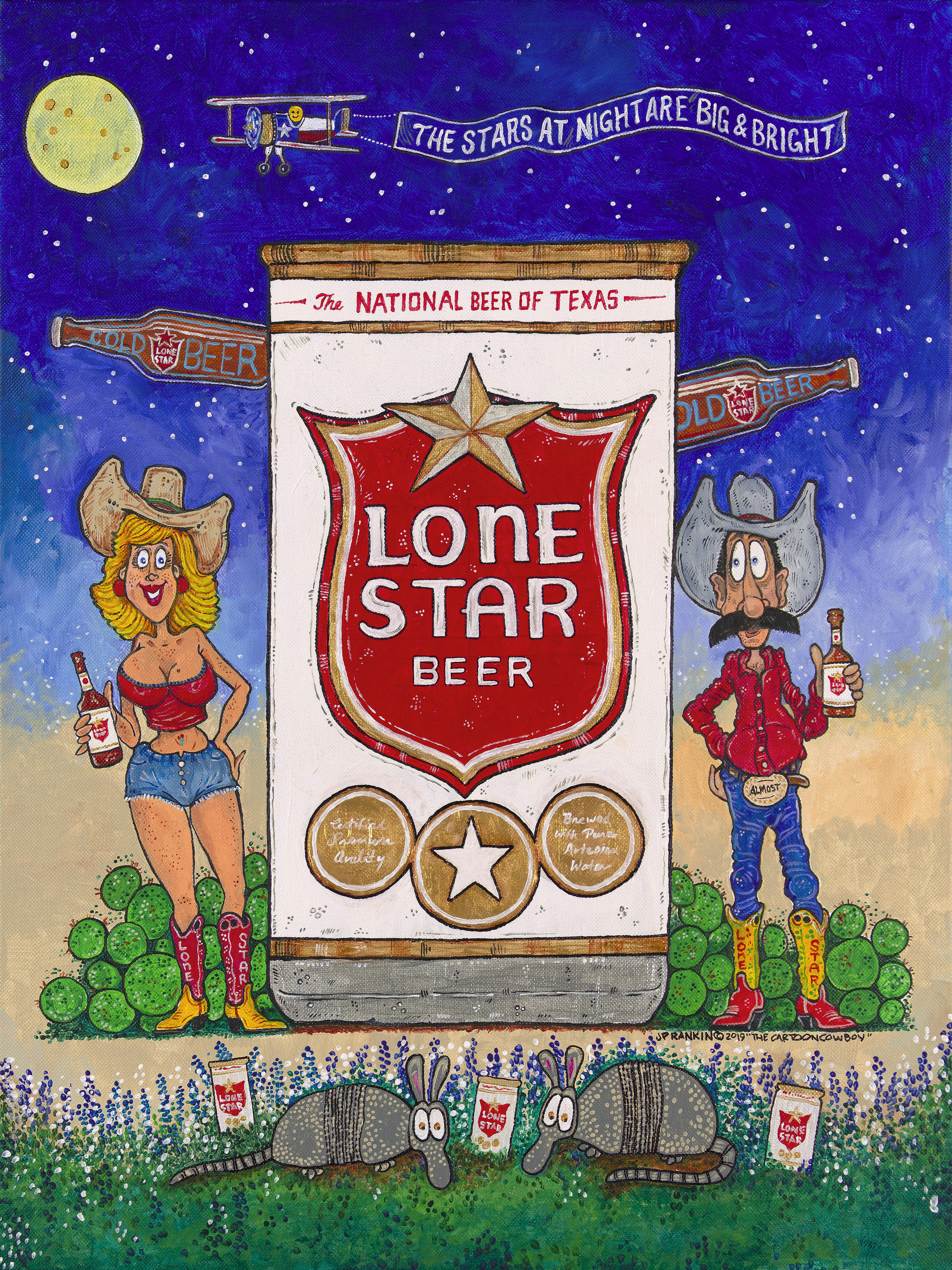 No. 2 - LONE STAR BEER
